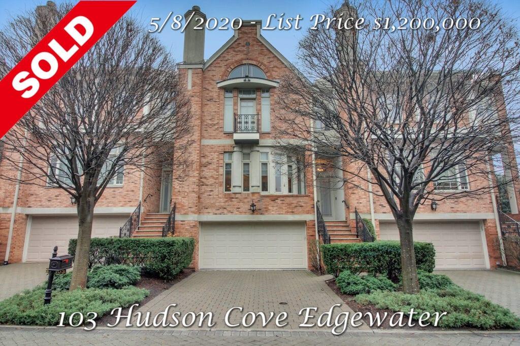 Sold - 103 Hudson Cove Edgewater, NJ 07020
