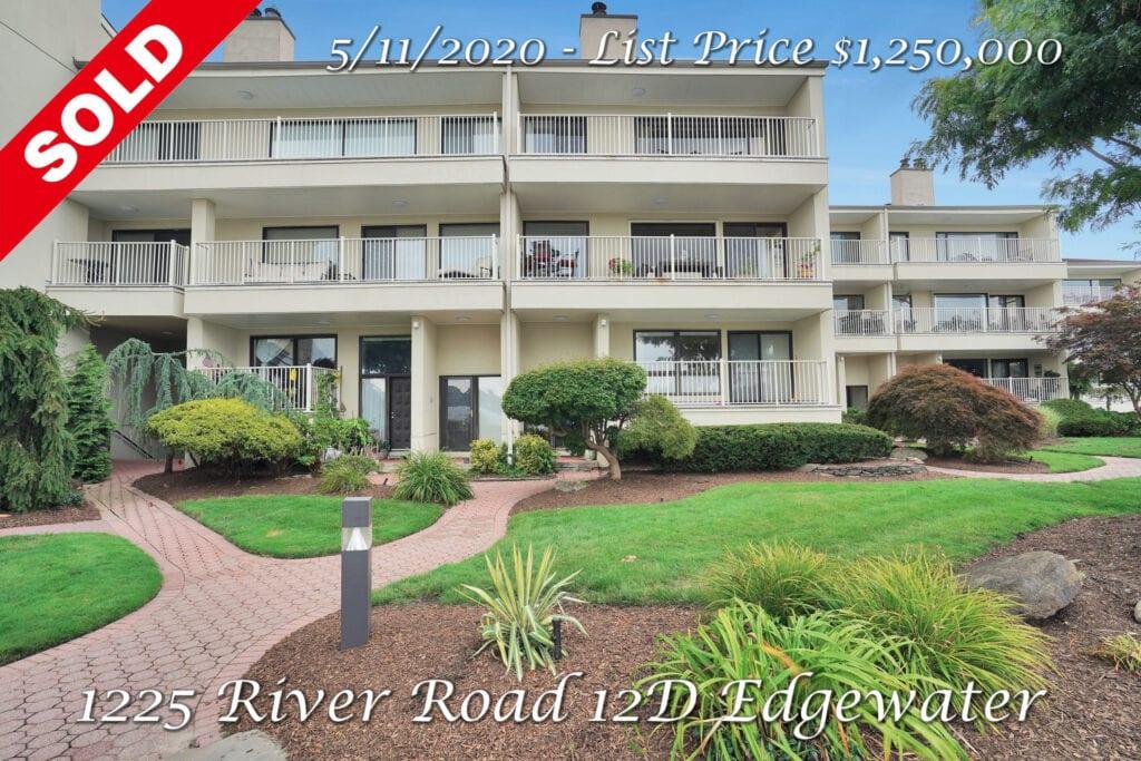 Sold - 1225 River Road 12D Edgewater, NJ 07020