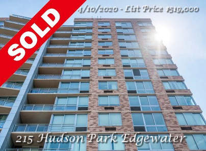 Sold - 215 Hudson Park Edgewater, NJ 07020